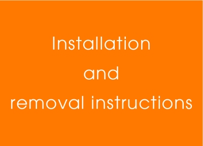 installation and removal copy